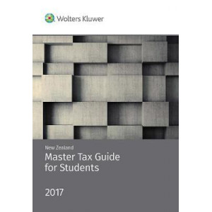 New Zealand Master Tax Guide for Students 2017