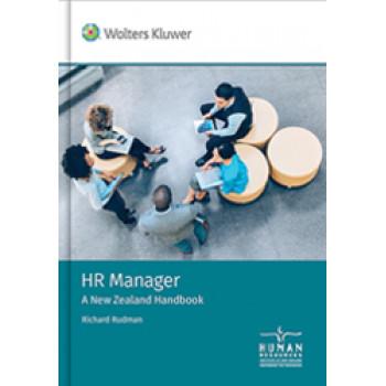 HR Manager - A New Zealand Handbook