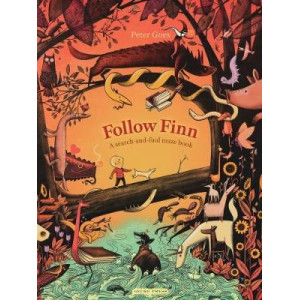 Follow Finn: A search-and-find maze book