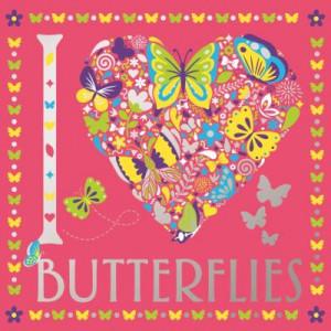 I Heart Butterflies