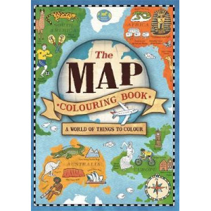 Map Colouring Book: A World of Things to Colour, The
