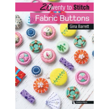 20 to Stitch: Fabric Buttons
