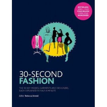 30-Second Fashion: The 50 key modes, garments, and designers, each explained in half a minute