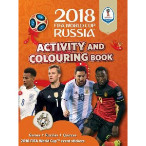 2018 FIFA World Cup Russia Activity and Colouring Book
