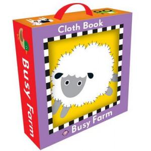 Busy Farm Cloth Book