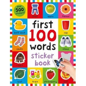First 100 Words Sticker Book