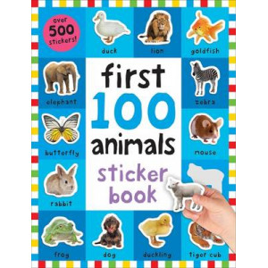 First 100 Animals Sticker Book