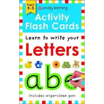Activity Flash Cards Letters