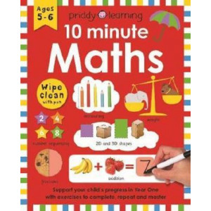 10 Minute Maths: Wipe Clean Workbooks