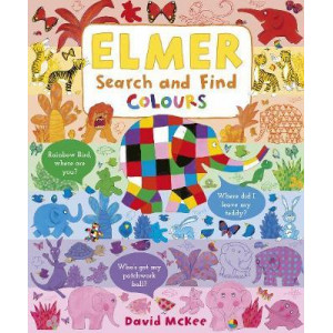 Elmer Search and Find Colours