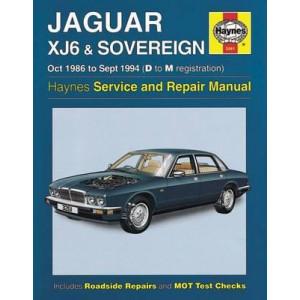 Jaguar XJ6 1986-94 Service and Repair Manual