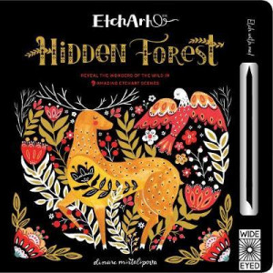 Etchart: Hidden Forest: Reveal the wonders of the wild in 9 amazing Etchart scenes