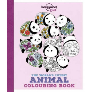 Lonely Planet the World's Cutest Animal Colouring Book