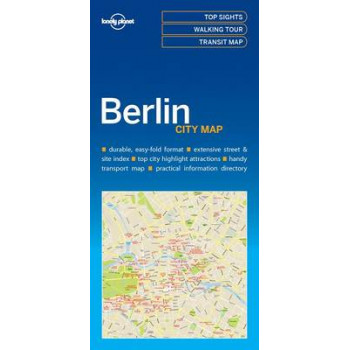 Lonely Planet Berlin City Map 2016
