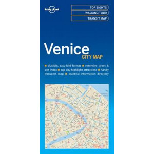 Lonely Planet Venice City Map 2017