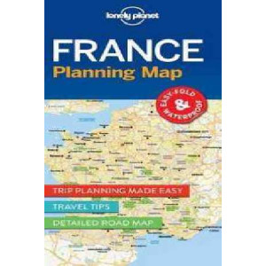 Lonely Planet France Planning Map