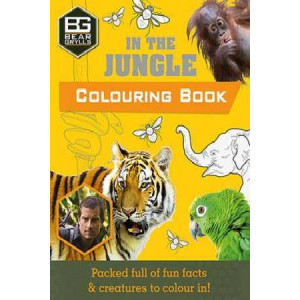 Bear Grylls Colouring Books in the Jungle