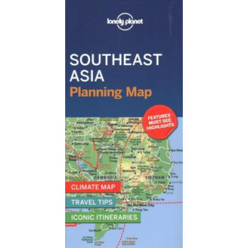 Lonely Planet Southeast Asia Planning Map