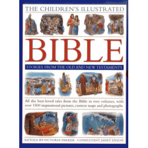 Children's Illustrated Bible Stories from the Old & New Testaments: All the Best-loved Tales from the Bible in Two Volumes