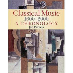 Classical Music 1600-2000: A Chronology