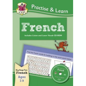 DNew Curriculum Practise & Learn: French for Ages 7-9 - with Vocab CD-ROM