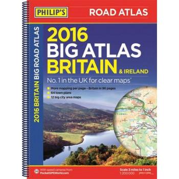 Philip's Big Road Atlas Britain and Ireland: 2016