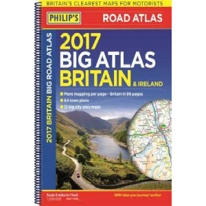 Philip's Big Road Atlas Britain and Ireland: 2017