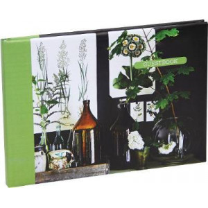 Botanical Style Guest Book