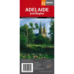 Adelaide and Region Handy: HEMA.4.00H: 2014 (2187B)