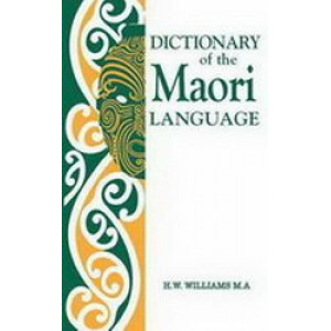Dictionary of the Maori Language