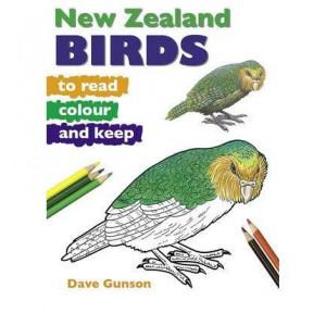 NZ Birds to Read, Colour & Keep