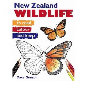 NZ Wildlife to Read, Colour & Keep