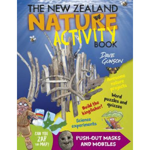 New Zealand Nature Activity Book