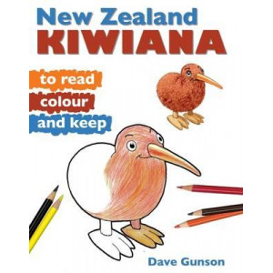 New Zealand Kiwiana to Read, Colour and Keep