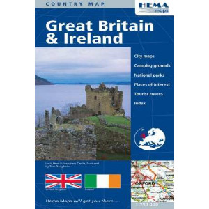 Hema Great Britain & Ireland Map