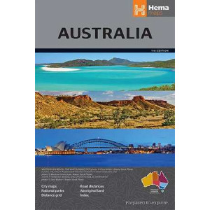 Australia Large Map 11th Ed
