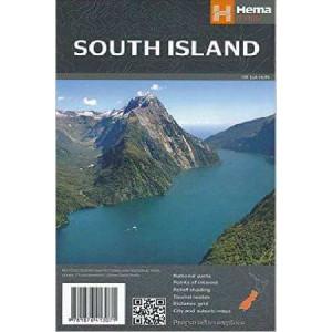 South Island New Zealand Map