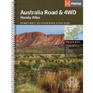 Australia Road and 4WD handy atlas