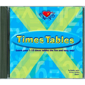Love to Sing Times Tables: CD