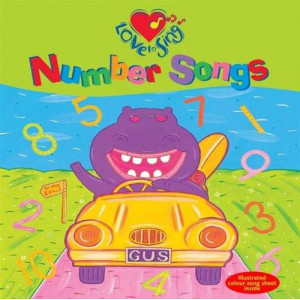 Love to Sing Number Songs: CD