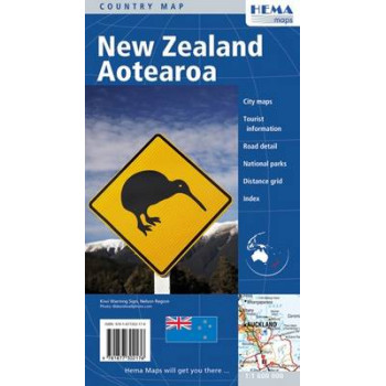 New Zealand Aotearoa Map