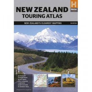New Zealand Touring Atlas 5E