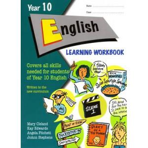 Year 10 English Learning Workbook