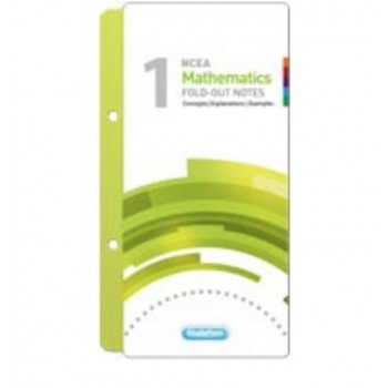 NCEA Level 1 Mathematics Fold-out Study Pass Notes