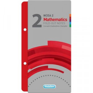NCEA Level 2 Mathematics Including Calculus Fold-out Study Pass Notes