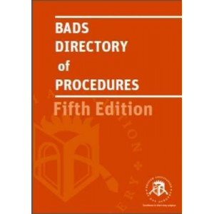 Bads Directory of Procedures 5th Edition 2016