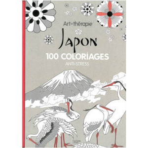 Art Therapy: Japan: 100 Designs Colouring in and Relaxation