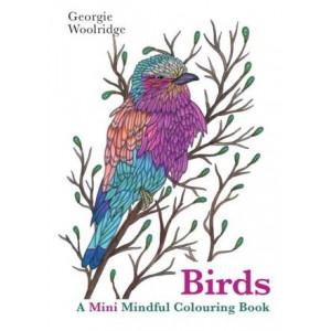 Birds: A Mini Mindful Colouring Book