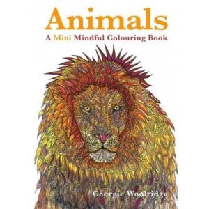 Animals: A Mini Mindful Colouring Book