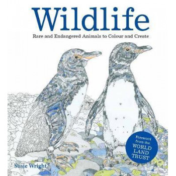 Wildlife: Rare and Endangered Animals to Colour and Create